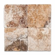 Oracle Tile And Stone Amazon by Andean Cream Travertine 6 X 6 Field Tile Oracle Tile U0026 Stone