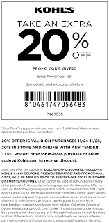 Kohls Coupons - 20% Off At Kohls, Or Online Via Promo Code GIVE20 Kohls 30 Off Coupons Code Plus Free Shipping March 2019 Kohls New Mobile Coupon Program 15 Off Printable Alcom Code Promo Deals Aug 1819 Coupon Exclusions Toys Reis Tsernobli Hind New Excludes Toys From Codes Coupons Kids Steals 40 Off 5 Ways To Snag One Lushdollarcom Pinned September 14th 1520 More At Or Online Via Promo Code Archives Turtlebird Holiday Shopping Starts Nov 8th 16th If Anyone Has In