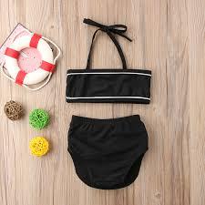 Großhandel Kleinkind Kinder Baby Mädchen Sommer Set Bade Beachwear