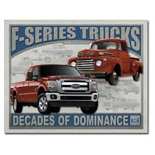 Ford F Series Trucks Decades Of Dominance Metal Sign | Garage Signs ... Photos The Baddest Ford Fseries Trucks Of Sema 2017 Allnew F150 Police Responder Truck First Pursuit 1987 Press Photo Bronco Range F Series Historic Images How The Remains Relevant After So Many Years Evolution Autotraderca 6 Uncommon Arguments For Buying A Truck Fordtrucks Super Duty Brings 13 Billion Investment To Stx Returns My Now Available On Fseries Indepth Model Review Car And Driver Media Center Advanced Eeering