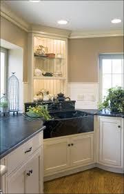 kitchen room fabulous white cast iron farmhouse sink corner