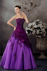 purple wedding dress naf dresses