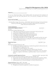 Sample Staff Nurse Resume Examples Charge Psychiatric Nursing Cover Letter