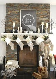 Christmas Mantel Decorating Tricks Decorations Fireplaces Mantels Seasonal Holiday Decor