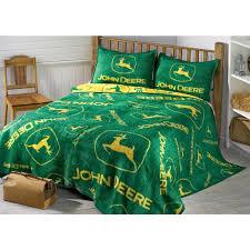 John Deere Bedroom Images by John Deere Logos Sham 77738 Quilts At Sportsman U0027s Guide