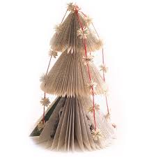 Christmas Tree Books Diy by 72 Best Book Folding Art Christmas Trees Images On Pinterest