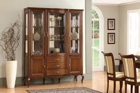 hochwertige vitrine schrank holz glas vitrinen klassische italienische möbel neu