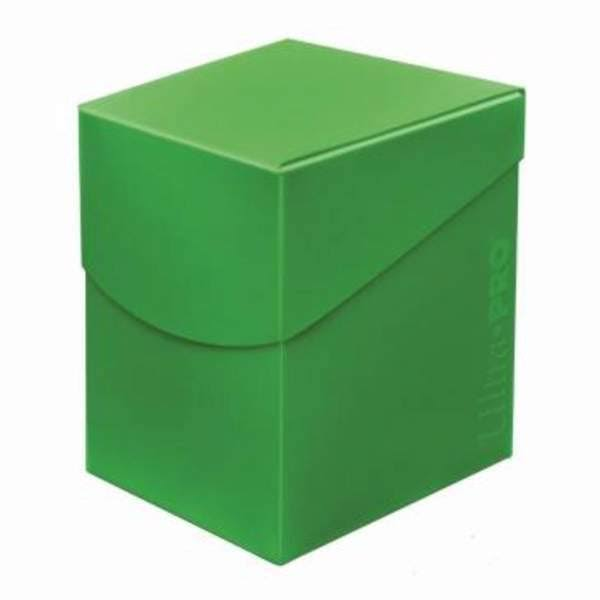 Ultra Pro Eclipse Deck Box - Lime Green, Holds 100 Cards