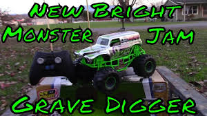 New Bright-Monster Jam-Grave Digger RC Review - YouTube New Bright Rc Monster Jam Truck Grave Digger Toysrus 124 Ff Twin Pack Colors And Styles Rc Trucks Youtube Radio Control 18 Scale W Buy El Toro 115 40mhz Amazoncom Sf Hauler Set Car Carrier With Two Mini Walmartcom 110 24 Ghz Grave Digger Kids Toy