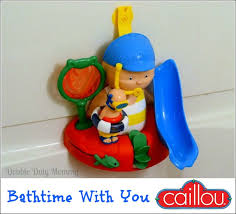 Caillou In The Bathtub by Bathtime Fun With Caillou Giveaway Double Duty Mommy