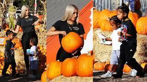 Pumpkin Patch Massachusetts by Kim Kardashian Hits A Pumpkin Patch With Her Kids North West