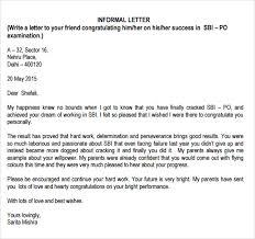 letter format informal Savesa