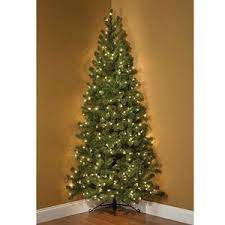 7 Ft White Pre Lit Christmas Tree by Best 25 Corner Christmas Tree Ideas On Pinterest Xmas