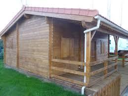 chalet en kit habitable prix chalet habitable de 48 m une terrasse de 16 m en bois en kit