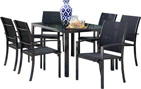Amberly 7 Piece Dining Set & Reviews | Joss & Main Klaussner Outdoor Delray 7piece Ding Set Hudsons Breeze Ding Chair Alinum Frame Harbour Suncrown Brown Wicker Fniture 5piece Square Modern Patio To Enjoy Lovely Warm Summer Awesome Patio Quay Chair By King Living Est Living Design Directory Room Charming Image Of For Hampton Bay Belcourt Metal With Walmartcom Bilbao Five Piece Falster Ikea I Love The Looks Of This Outdoor Ding Set Table 10 Easy Pieces Chairs In Pastel Colors Gardenista