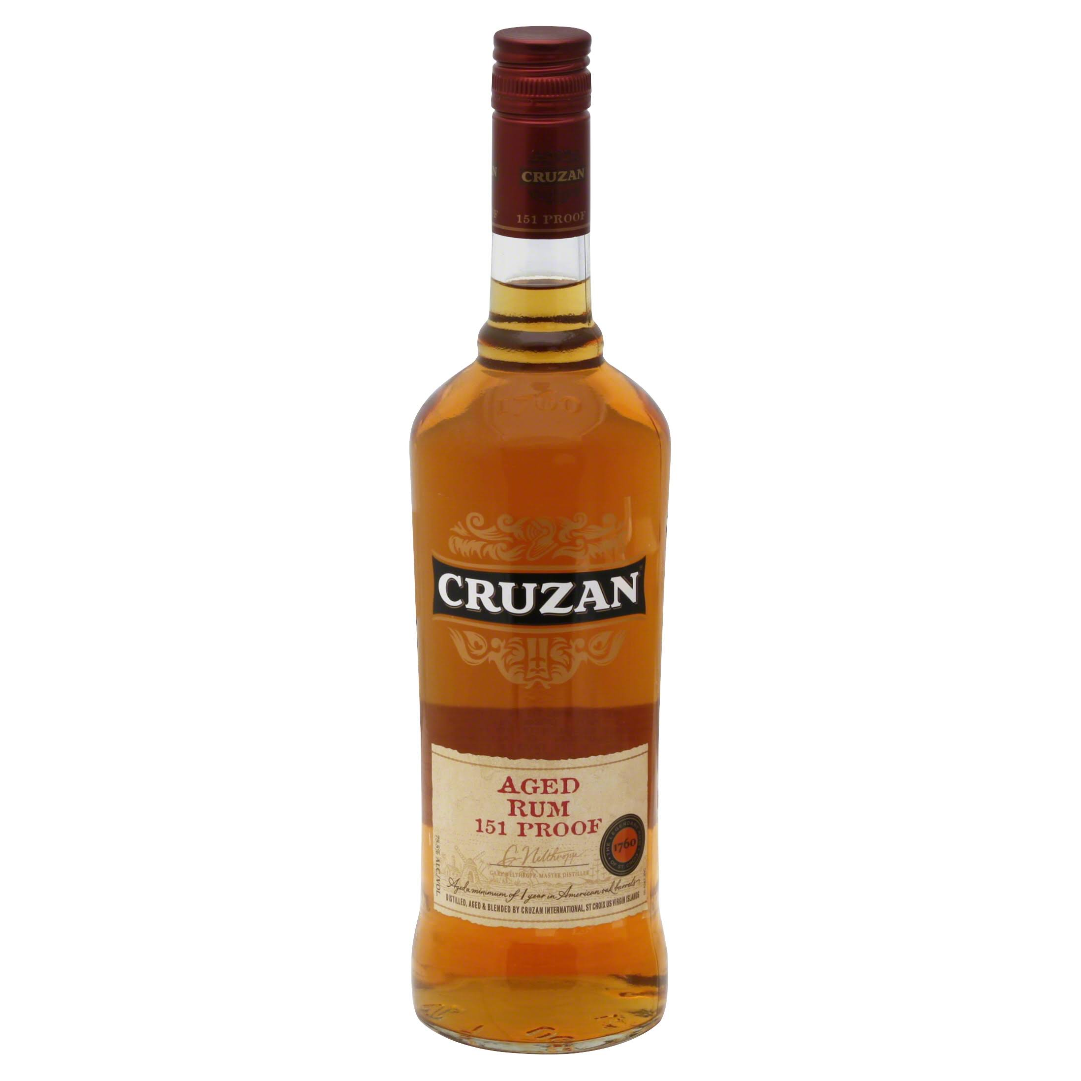 Cruzan 151 Proof Aged Rum