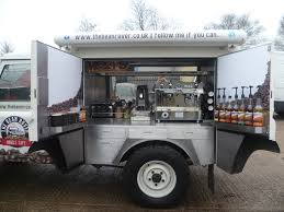 Landrover Coffee Van