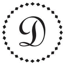 Monogram II Letter D