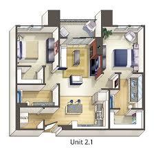 100 Tiny Apartment Layout Interior Design QHousepl