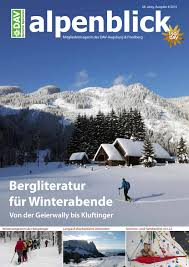 Kã Che Lutz Augsburg Alpenblick Ausgabe 4 2019 By Dav Sektion Augsburg Issuu