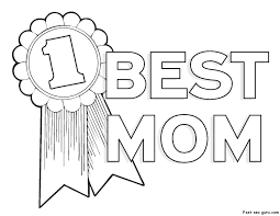 Coloring Page Mothers Day Holidays And Special Occasions 125
