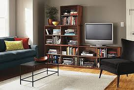 Living Room With Fireplace And Bookshelves by Bookcase In Living Room Centerfieldbar Com