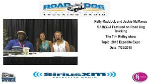 100 Road Dog Trucking KJ MEDIA And Tim Ridley Live At The 2015 Expedite Expo YouTube