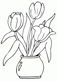 Colouring Book Of Flowers Flower Coloring Books Page