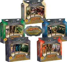 Magic The Gathering Edh Deck Box by Original Commander Decks Complete Set Of 5 Magic Products