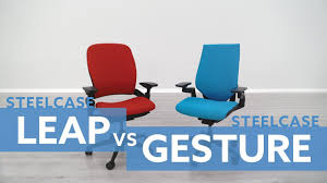 Steelcase Leap Vs. Gesture Chair: Which Is Best? Steelcase Leap Chair Version 2 Remanufactured Fniture High Back In Grey For Office Ideas Sothebys Home Designer V2 Casa Contracts Ltd V1 Task Black New And Used In Los Inexpensive Leather Vulcanlirik 462 Series Highback Dark Gray Msu Midnight Style The Workplace Navi Teamisland Drafting Stool Human Solution Desk Reviews Wayfair