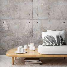 Concrete Blocks Grau Grandeco