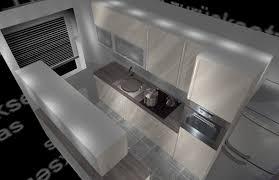 neue küche in kleinem raum mit 2 türen status offen