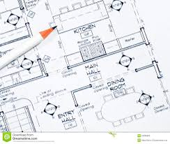Interior Design Stock Photo Image Of Blueprint Color