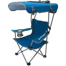 kelsyus kids canopy chair blue gray walmart com