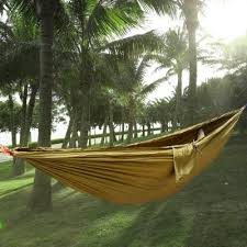 2 Person Hammock Assorted Color Parachute Nylon Fabric $18 36