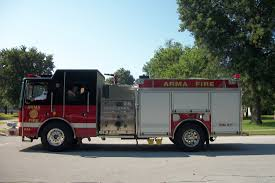Fire Department - Arma, Kansas Deep South Fire Trucks Model 18type I Interface Hme Inc Overland Park Ks Apparatus Flickr Northeast News New Fire Chief Announced During Kcfd 150th And Police Services Moran Kansas Shows Off New Fleet Of Trucks Pierce Jul 2015 Truck The Month Mfg Proposed Purchase Laddpumper Engine Illinois Edgar County American Lafrance Stock Photos Fort Riley About Us Cgs Mounted Color Guard 2 Neighboring Homes In City Catch On Sunday