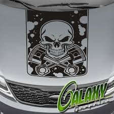 Pistons & Skull Truck Hood Decal Matte Black Sticker- Ram F150 ... The 2nd Half Price Firefighter Skull Car Sticker 1915cm Car Styling 2 Metal Mulisha Girl Skulls Bow Vinyl Decals 22 X Window Truck Army Star Military Bed Stripe Pair Skumonkey 2019 X13cm Punisher Auto Sticker Pentagram Cg3279 Harleydavidson Classic Graphix Willie G Decal Pistons Hood Matte Black Ram F150 Pin By Aliwishus On Skulls Flags Pinterest Stickers And Decalset Hd Skull American Flag Backround Cg25055 Die Cutz High Quality White Deer Rack Wall Etsy Unique For Trucks Northstarpilatescom Buy Shade Tribal Graphics Van