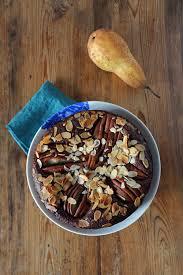 birnen brownie mit mandeln