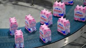 War On Waste Evian To Make All Plastic Bottles From Recycled Material By 2025