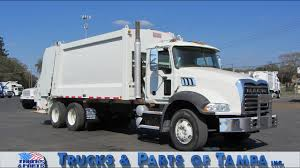 100 Trucks And Parts Of Tampa Tour 2009 Mack GU813 Heil DuraPack 5000 REL 012413 YouTube