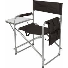Trademark Innovations Folding Director's Chair With Aluminum Side Table,  Storage Bag And Steel Tubing Pnic Time Red Alinum Folding Camping Chair At Lowescom Extra Large Directors Tan Best Choice Products Zero Gravity Recliner Lounge W Canopy Shade And Cup Holder Tray Gray Timber Ridge 2pack Slimfold Beach Tuscanypro Hot Rod Editiontall Heavy Duty Director Side Tray29 Seat Height West Elm Metal Butler Stand Polished Nickel Replacement Drink For Chairs By Your Table Sports Hercules Series 1000 Lb Capacity White Resin With Vinyl Padded