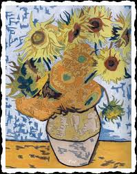 Iris 1889 Par Vincent Van Gogh Coloriage Adulte Photographie