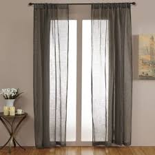 Bed Bath And Beyond Curtains 108 by Buy Linen Sheer Curtains From Bed Bath U0026 Beyond