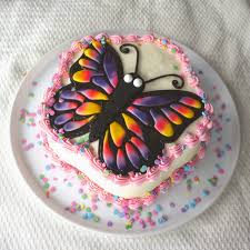 Butterfly cake How to make a buttercream butterfly cake