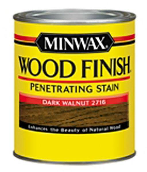 Minwax Wood Finish Interior Wood Stain - Dark Walnut