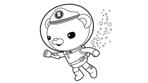 Latest Octonaut Coloring Pages Design 47699 Inside Captain Barnacles
