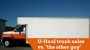 U-Haul Truck Sales Vs.