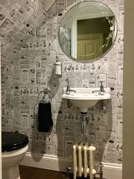 Lovely Photo Wallpaper Ideas Of Funky Bathroom New Cloakroom Galerie ... Bathroom Wallpapers Inspiration Wallpaper Anthropologie Best Wallpaper Ideas 17 Beautiful Wall Coverings Modern Borders Model Design 1440x1920px For Wallpapersafari Download Small 41 Mariacenourapt 10 Tips Rocking Mounted Golden Glass Mirror Mount Fniture Small Bathroom Ideas For Grey Modern Pinterest 30 Gorgeous Wallpapered Bathrooms