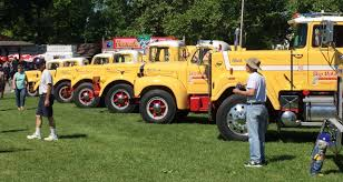 100 Mack Trucks Macungie Antique Truck Club National Meet ClassicCarscom Journal