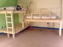 hanging bunk beds designs how to make hanging bunk beds modern